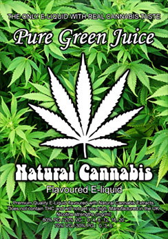 Real cannabis tastes e-liquid